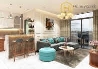 Beautiful stylish 3 bedrooms apartment in Vinhomes Central Park