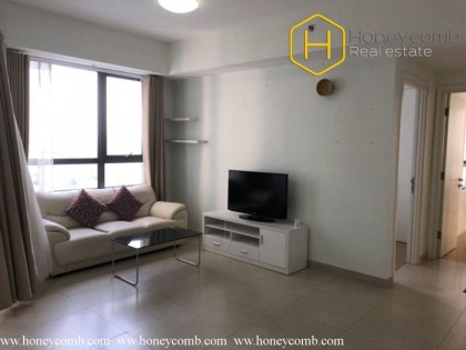 Sophisticated apartment with 2 commodious bedrooms in Masteri Thao Dien
