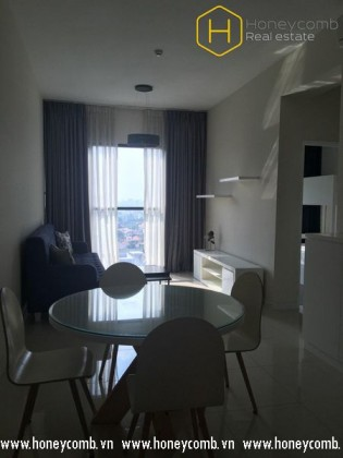 Cozy with 2 bedroom apartment in The Ascent Thao Dien for rent