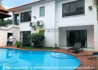 Spacious VILLA in Thao Dien & Nicely designed including swimming pool