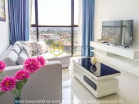 The 2 bedrooms-apartment is really elegant in The Ascent Thao Dien
