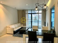 You will be fascinated with high-class furniture and warm tone of this 1bed-apartment at City Garden