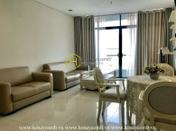 Delightful & Fully-furnished apartment for lease in City Garden