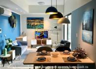 Bright elegant apartment with 2 bedrooms in Masteri Thao Dien