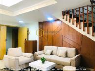 Duplex apartment with full furniture in Masteri for rent