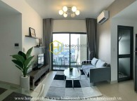 Two beds apartment river view in Masteri Thao Dien for rent