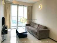 Standard apartment with simple furniture in Thao Dien Pearl