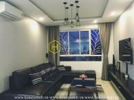 The elegant 3 bedrooms apartment for rent in Tropic Garden