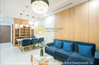 Stunning! Unique! And very Upscale! You will be fascinated by this highly elegant apartment in Vinhomes Landmark 81