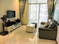 Simple decor & Basic furnished 2 bedroom apartment in Vinhomes Central Park