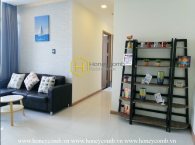 Basic furnished apartment for rent in Vinhomes Central Park