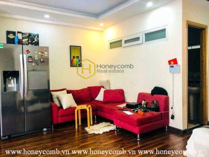 This serviced apartment in Thao Dien, District 2 possesses an impressive & sophisticated style