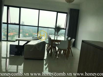 Căn hộ 3 phòng ngủ view sông cho thuê ở The Ascent Thao Dien