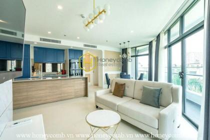 Friendly designed beautiful 2 bedrooms apartment in City Garden