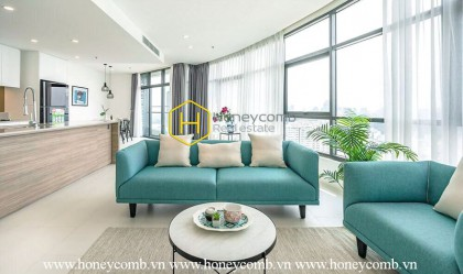 3 bedrooms nice and brand new furniture in City Garden for rent