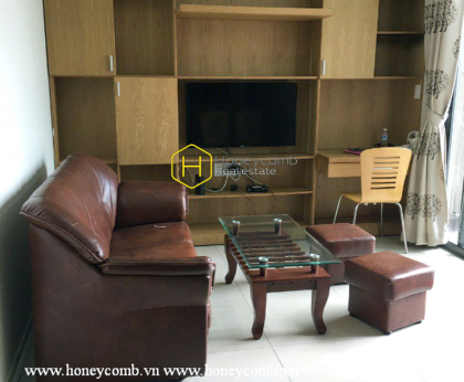 2-beds apartment with simple furnished for rent in Masteri Thao Dien