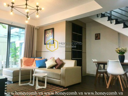 Cute design. Warm living space. Ideal apartment in Masteri Thao Dien