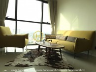 A full-furnitured apartment for rent with simple design in The Ascent