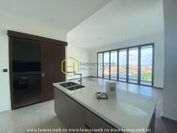 Discover the tranquil view of this unfurnished apartment in D'edge Thao Dien