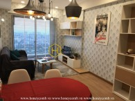 Masteri Thao Dien two bedroom apartment with nice furnished