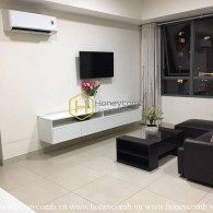 Simple furnished 2 beds apartment in Masteri Thao Dien for rent