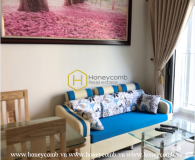 Feel the tranquil air in this cozy furnished apartment at Masteri Thao Dien