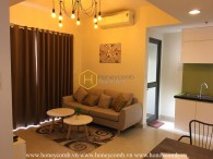 A romantic atmosphere spreading over this Masteri Thao Dien apartment