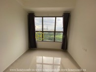 Simple structure and unfurnished apartment at The Sun Avenue
