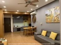 The elegant and delicate 2 bedrooms-apartment in Tropic Garden