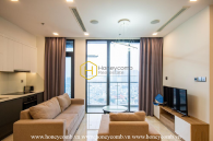 A light and delicate apartment in Vinhomes Golden River that makes everyone warm