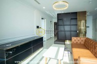 Gentle with vibrating design in the Vinhomes Golden River apartment