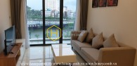 A beautiful rustic apartment for rent in Vinhomes Golden River