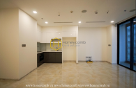 Airy and well-lit apartment with no furniture is waiting for you to rent at Vinhomes Golden River