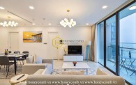 Engaged by the Vinhomes Golden River apartment's charismatic beauty