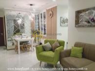 Magnificent design with logic arrangement in Vinhomes Central Park apartment
