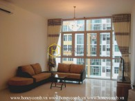 How do you think about this warm and familiar 3 bed-apartment at The Vista ?