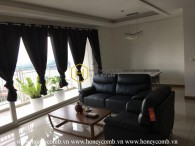 Modern decorated with 3 bedrooms apartment in Xi Riverview Palace
