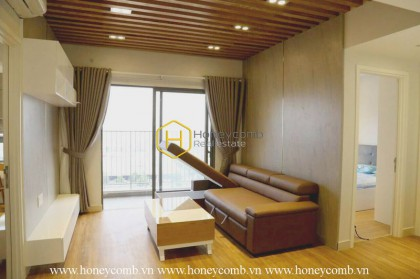 Luxurious furniture for 2 beds on high floor in Masteri for rent.