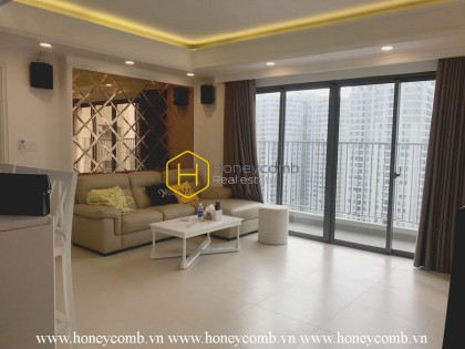 Nice apartment with 2 spacious bedrooms in Masteri Thao Dien