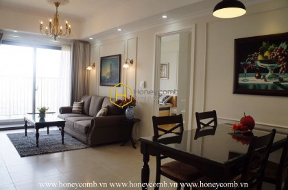 Nice furnished 2 bedroom apartment in Masteri Thao Dien for rent