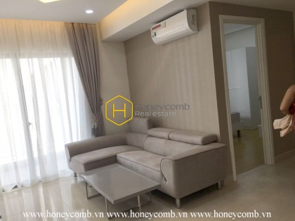 Spacious living space and harmonizing style in Masteri Thao Dien apartment for rent
