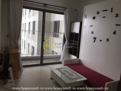 A small and simple apartment but comfortable and convenient in Masteri Thao Dien