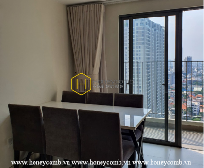 An apartment with aesthetic beauty in Masteri Thao Dien is now for rent!