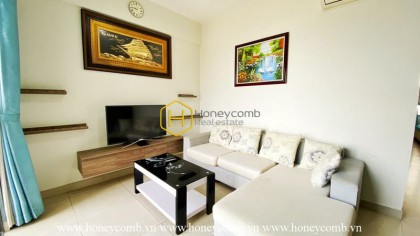2 beds apartment in Masteri for rent with basic furnished