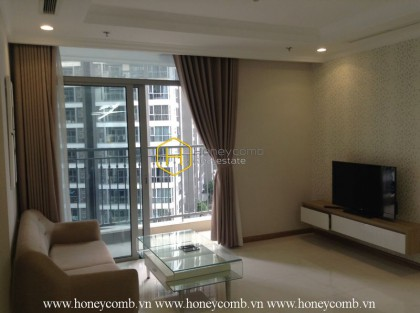 A gentle architecture in Vinhomes Central Park apartment for rent