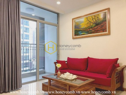 Good furniture with 1 bedroom apartment in Vinhomes Central Park